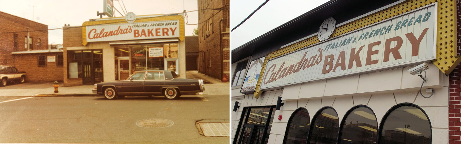 Original Calandra's Bakery old photo